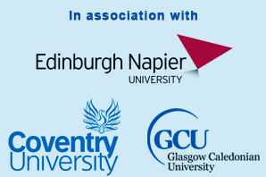 Edinburgh Napier University, Coventry University, Glasgow Caledonian University