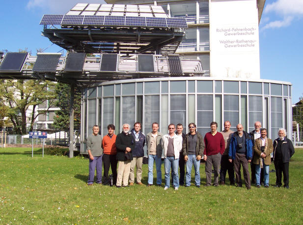 EMTEU Meeting in Friburg to define the profile and knowledge of the European Energy technician