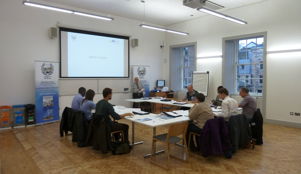 The EEC runs Renewable Energy courses across the UK, in Leeds, Manchester, London