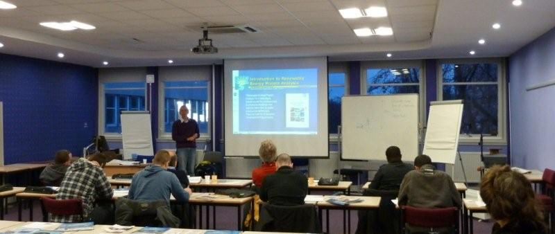 The EEC runs Green Energy courses across the UK, in Leeds, Edinburgh, London and Manchester