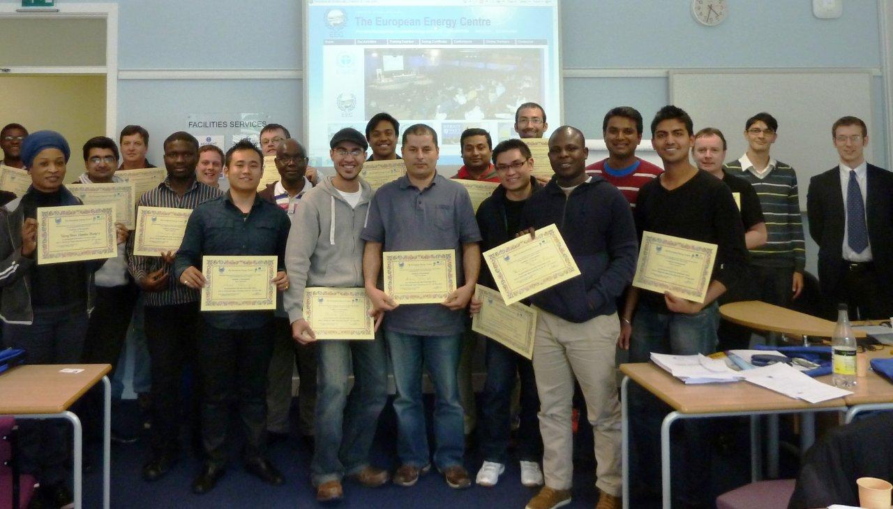 he EEC runs Renewable Energy courses across the UK, in Leeds, Edinburgh, London and Manchester